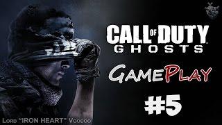 Прохождение игры Call of Duty: Ghost ► Серия 5 [ЖЕРТВЫ и ЦИФЕРБЛАТ] Геймплей CoD: Ghost