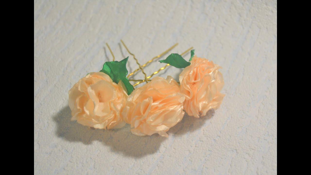 Цветы на шпильку своими руками 54
