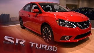 2017 Nissan Sentra SR Turbo First Look - 2016 Miami Auto Show