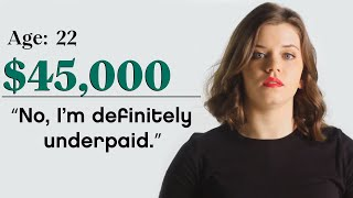 Women with Different Salaries on if Money Makes Them Happy | Glamour