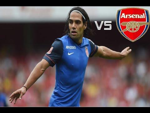 Radamel Falcao vs Arsenal | Individual Highlights | 8/3/2014