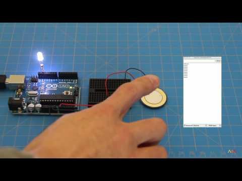 Vibration Sensor using Piezoelectric on Arduino Sensor