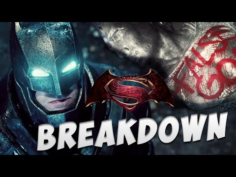 Batman v Superman Dawn of Justice Trailer BREAKDOWN!