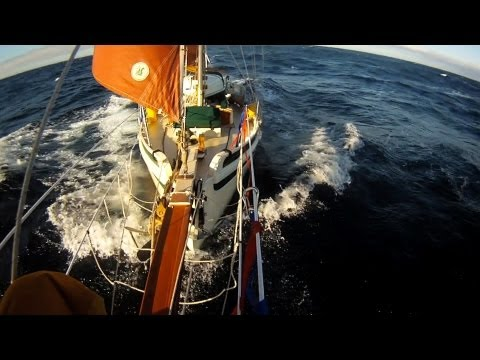 Sailing Offshore To Nova Scotia: Watch Keeping