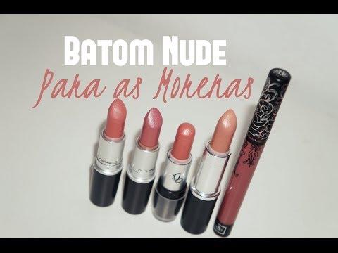 Batom Nude para Pele Morena