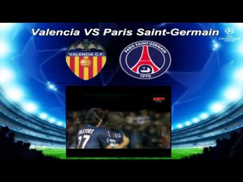 ALL GOALS PSG 2X1 Valencia | UEFA Champions League 12-02-2013