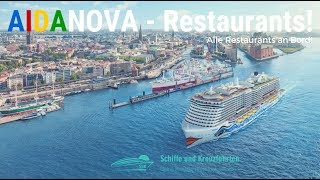 AIDAnova: Restaurants - Kulinarik an Bord - Alle Restaurants