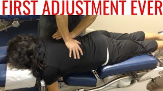 FIRST TIME patient tries CHIROPRACTIC and is BLOWN away