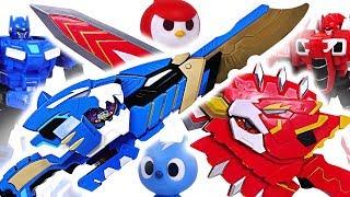 Miniforce X Commando X Weapon, Commando X Machine transform! Defeat the dinosaurs! #DuDuPopTOY