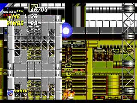 Misc Computer Games - Sonic The Hedgehog 2 - Chemical Plant Zone