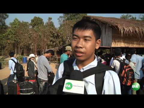 Khmer Student got the scholarship