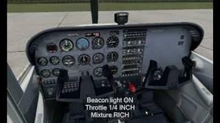 FSX - Cessna 172 Startup Tutorial