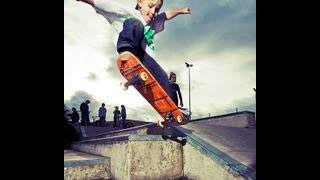 SKATEBOARDING VIDEO 6 year old Skateboarder Schaeffer McLean in Spain