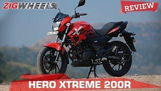 Hero Xtreme 200R Review   A 200 for a 160cc money, sensible?   ZigWheels