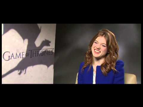 HBO Asia | Game of Thrones S3 - Interview with Rose Leslie