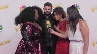 Download Lagu TEAM BLAKE Talks About Being A Team From the Beginning | The VOICE Red Carpet Gratis STAFABAND
