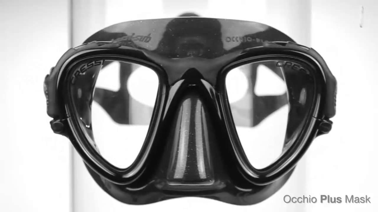 Cressi Occhio Plus Dive Mask   www watersportswarehouse co uk