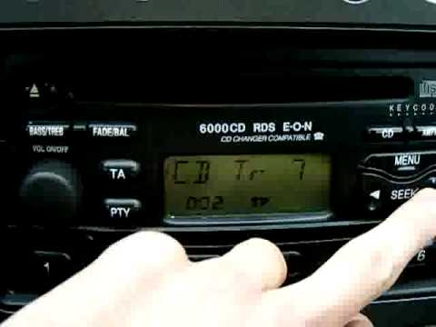 Ford Focus 6000 CD RDS EON CD Changer