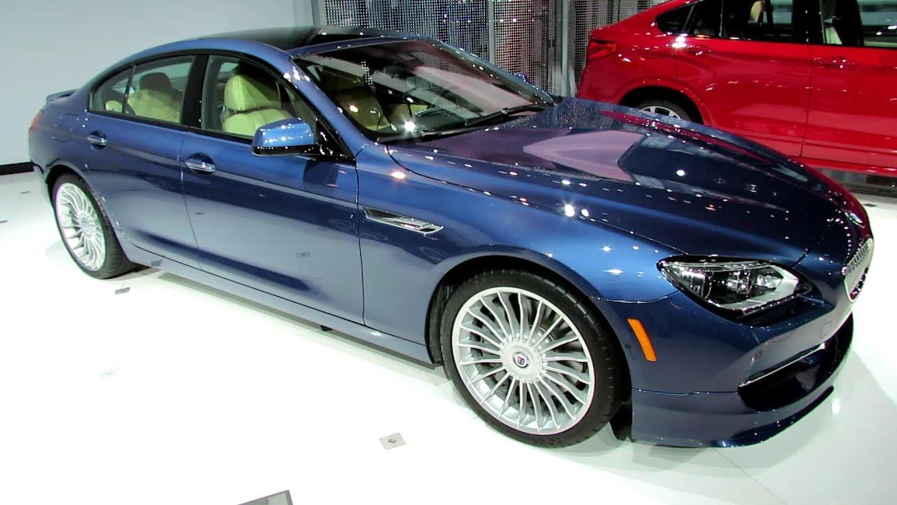2015 BMW Alpina B6 Gran Coupe Exterior And Interior