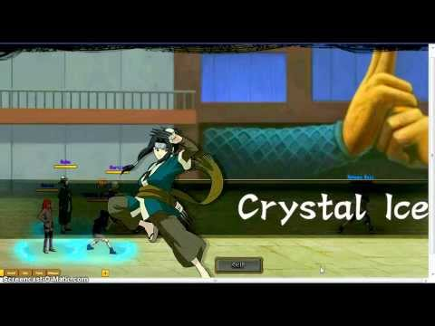 Ultimate Naruto Open Beta Genin's Trial Gameplay