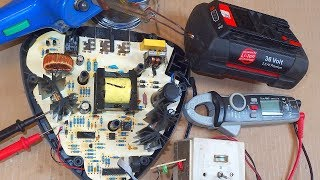 Fixing the switching power supply of a power tool charger
