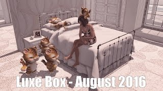 Luxe Box - August 2016 - Unboxing Video - Second Life Subscription Box
