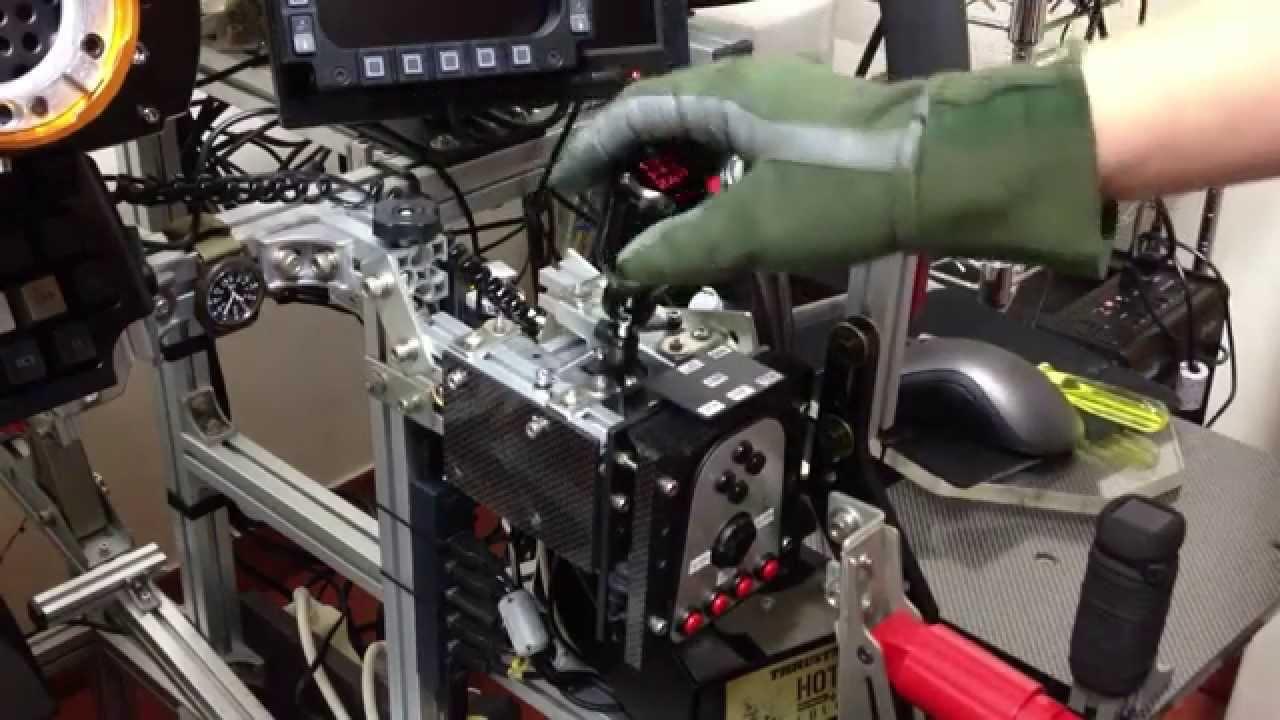 G27 Shifter Adapter G27 H-shifter Mod Click Test