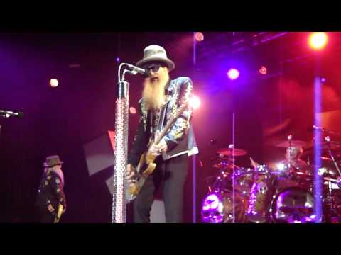 ZZ Top. Hey Joe. Billy Gibbons with his RebelRelic Holy Grail. La Grange Fest Austin Texas 2011
