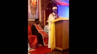 "Memher Merigeta Abay ""Yeminegrih Alegn"" Lucas 7:1 (Ethiopian Orthodox Tewahedo Church sermon)"