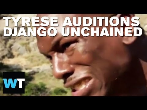 Tyrese's Impassioned Django Unchained Audition Tape | What's Trending Now