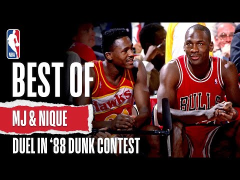 Michael Jordan and Dominique Wilkins Look Back on their 1988 Dunk Contest Duel
