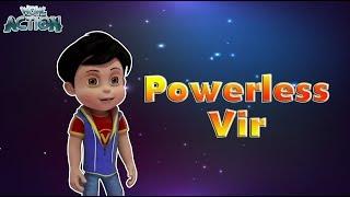Vir: The Robot Boy   Powerless Vir   3D Action shows for kids   WowKidz Action