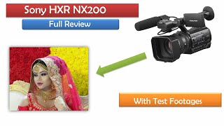 Sony HXR NX200 New Budget Camcorder | Full Review In Hindi