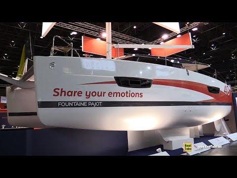 2018 Fountaine Pajot Lucia 40 Catamaran  Walkaround  2018 Boot Dusseldorf Boat Show