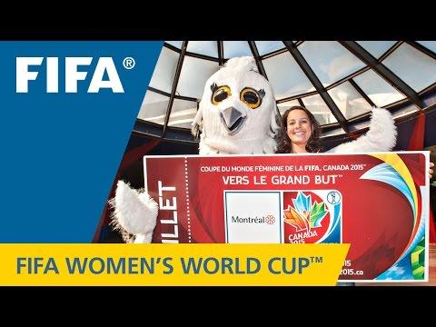Women's World Cup Mascot Says Hello!
