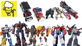 Transformers Movie Optimus Prime Optimus Primal Lio Convoy God Ginrai Optimus Exprime