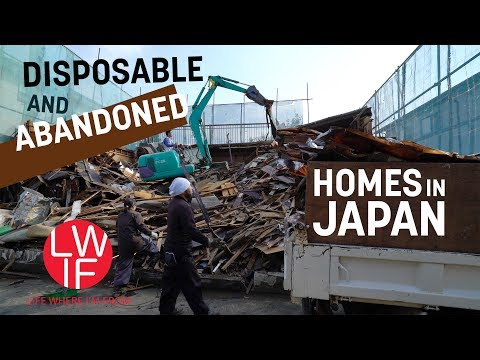 Disposable and Abandoned Homes in Japan