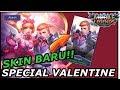 SKIN BARU ALUCARD DAN MIYA SPESIAL VALENTINE 😘😍 KECE BADAI | MOBILE LEGEND INDONESIA MP3