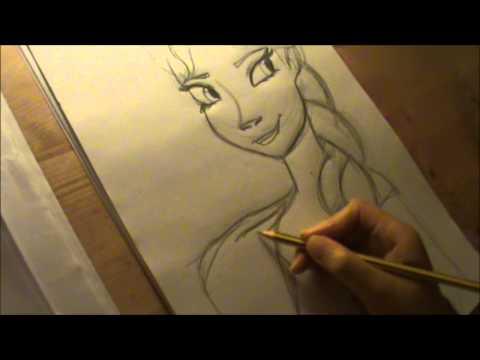 How To Draw Disney's Frozen: Elsa