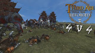 -- BATTLE FOR ENEDWAITH -- Third Age: Reforged Patch .97 4v4 Battle