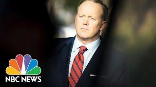 100 Days Of Sean Spicer Press Briefings   NBC News