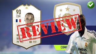 FIFA 19 PLAYER REVIEW | PRIME ICON 90 MAKELELE | IS HE WORTH IT?