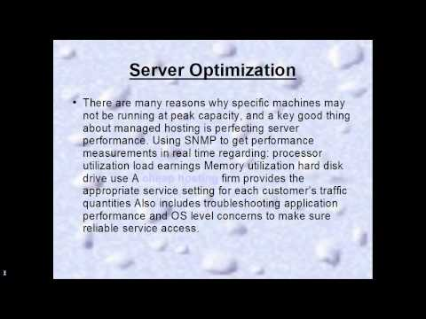 Reasons to choose Managed or dedicated hosting
