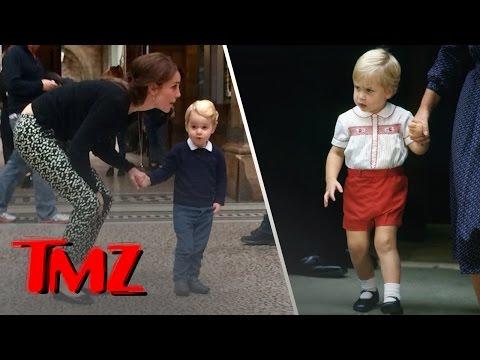 Prince George Looks Just Like His Dad Prince William!