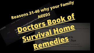 Doctors Book Of Survival Home Remedies Review 2020  - Doctors Book Of Home Survival Remedies
