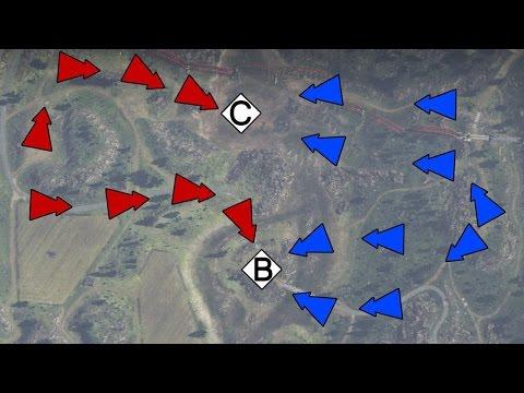 Тактический анализ карт - War Thunder. Обучение, часть 8. Танки