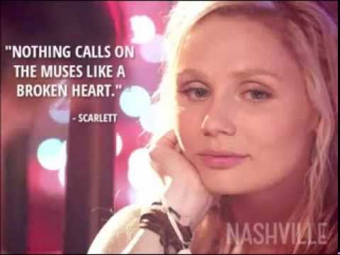 Scarlett O'Connor (Clare Bowen) - Black Roses (Nashville) PianoVocal