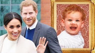 See How Meghan Markle and Prince Harry's Baby Might Look!
