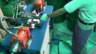 Hydraulic Tube End Hole Punching Machine