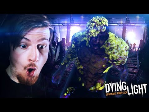 A BOLTER!? WHAT THE.. ( + TAKING DOWN A VOLATILE!) || Dying Light (Part 6)